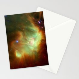 The Perseus Nebula (NASA's Spitzer Space Telescope) Stationery Cards