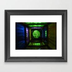a bright hall Framed Art Print