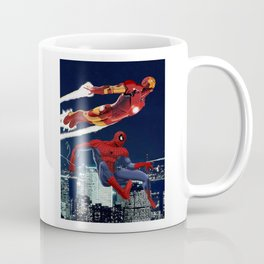 Iron Man & Spider-Man Coffee Mug