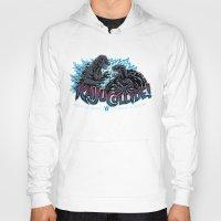 kaiju Hoodies featuring Kaiju Collide by Austin James