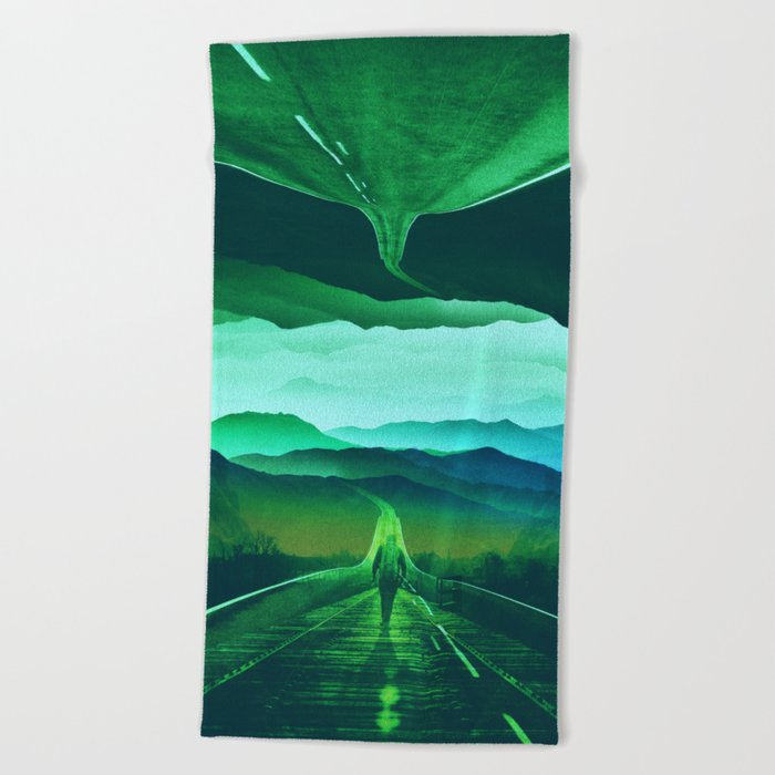 Proof of Existence Beach Towel