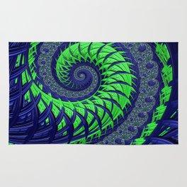 Seahawks Spiral Rug