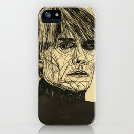 My Favorite Rogue (Warhol) iPhone Case