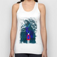 backpack Tank Tops featuring Repatriation by Rendra Sy