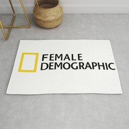 Female Demographic Rug