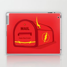 Faster than E-mail Laptop & iPad Skin
