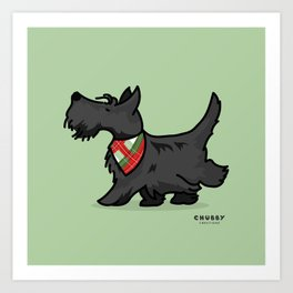 The Scottish Terrier Art Print