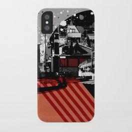 CMYK Triptych - Magenta iPhone Case