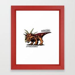 Dinosaur - Styracosaurus Framed Art Print