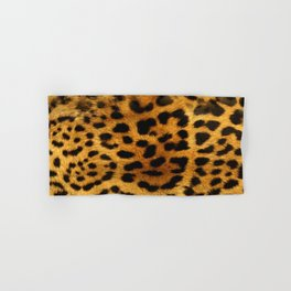 leopard pattern Hand & Bath Towel