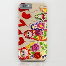 From Russia with Love Russian Dolls iPhone 6 Slim Case