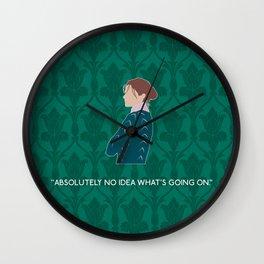 The Lying Detective - Molly Hooper Wall Clock