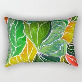 Dancing leaves Rectangular Pillow