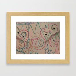 Who are these guys again? Framed Art Print