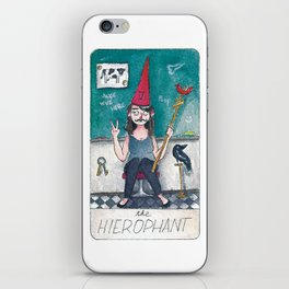 The Solipsist Tarot | V - The Hierophant iPhone Skin