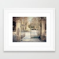 narnia Framed Art Prints featuring To Narnia by Oh, Good Gracious!