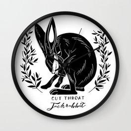 The Blind Jack Rabbit Wall Clock