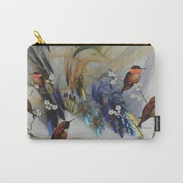 Rufous Hummingbirds Carry-All Pouch