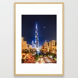 1001 DREAM IN DOWNTOWN DUBAI Framed Art Print