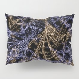 Blue Magical Wisps Pillow Sham