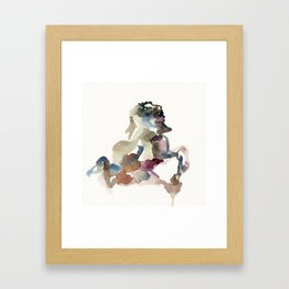 fountain #2 Framed Art Print