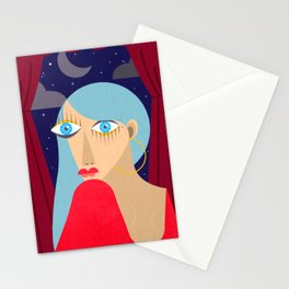 Face 3 Stationery Cards