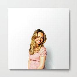 Hayden Panettiere - Celebrity Art Metal Print