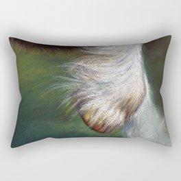 The Hoof Rectangular Pillow