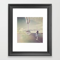 This Must Be The Place Framed Art Print