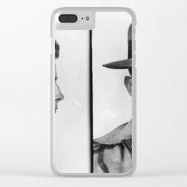 James Whitey Bulger Mug Shot 1953 Horizontal Clear iPhone Case