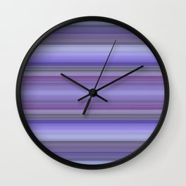 Hydrangea in Summer Wall Clock