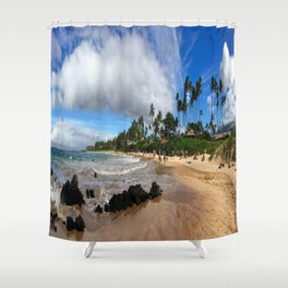 Lahaina, Maui Shower Curtain