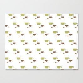 CUP PATTERN Canvas Print