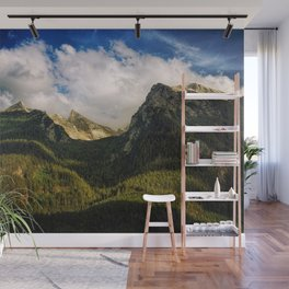 All That Is Above - Mountainscape Wall Mural