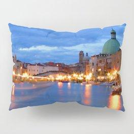 Italy. Venice at dusk Pillow Sham