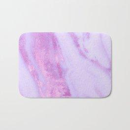 Pink Marble - Shimmery Magenta Gold Marble Metallic Bath Mat