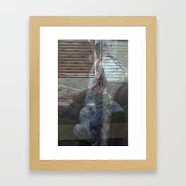 Sunday Coffee Framed Art Print