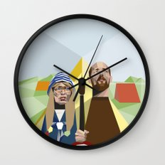 Nuts in May (West Country Gothic) Wall Clock