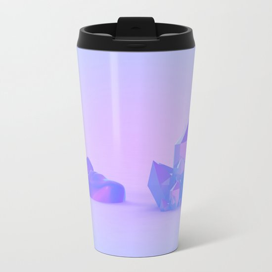 Each of Us is a Place Metal Travel Mug