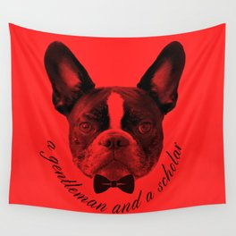 James: A Gentleman and a Scholar in Red Wall Tapestry