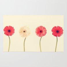Technicolour Flowers  Rug