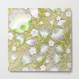 Art Flowers V7 Metal Print