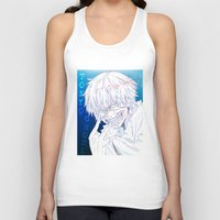 tokyo ghoul Tank Tops featuring Tokyo Ghoul  by Neo Crystal Tokyo