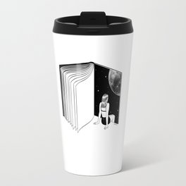 Reading is Dreaming with Your Eyes Open Travel Mug