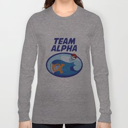 Team Alpha Sapphire Long Sleeve T-shirt