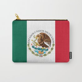 Flag of Mexico - alt version with seal insert Carry-All Pouch