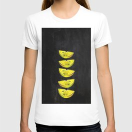 Lemon Slices Black T-shirt