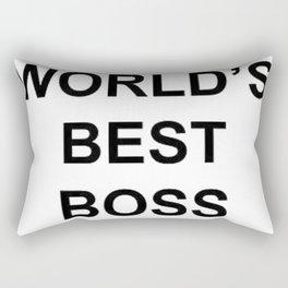 World's Best Boss Michael Scott Rectangular Pillow