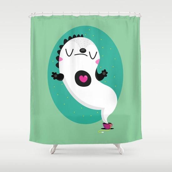 Zen and tea Shower Curtain