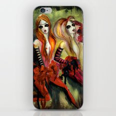 Twins 1 of 3 iPhone & iPod Skin